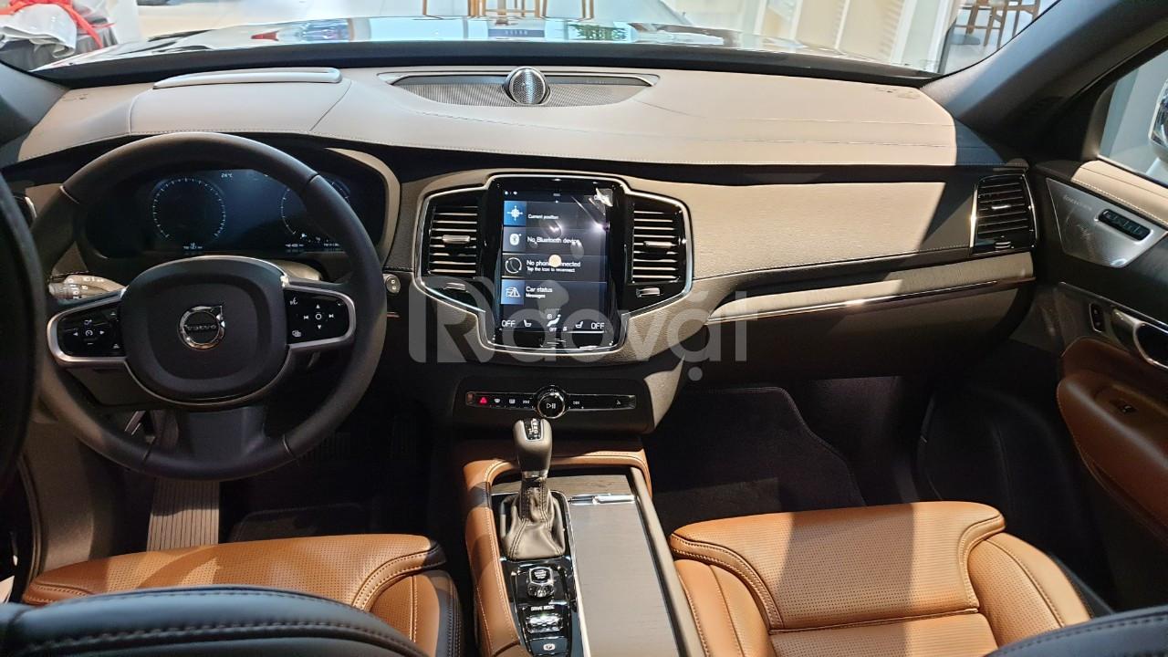 Bán Volvo XC90 T6 2021 nhập Thụy Điển, giá xe Volvo mới