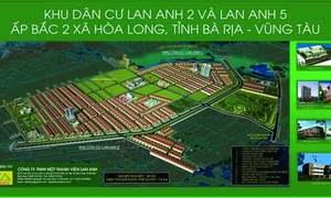 Cần mua đất đầu tư dự án Lan Anh 1,2 và 5