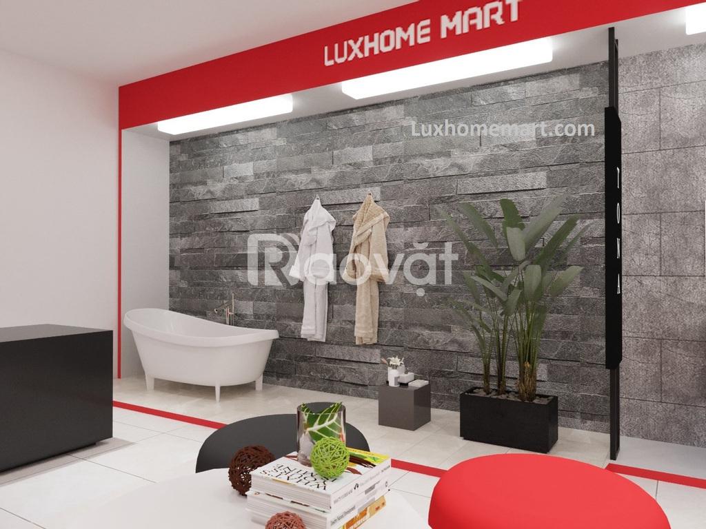 Đại lý ủy quyền thương hiệu vật liệu xây dựng hoàn thiện Luxhome Mart