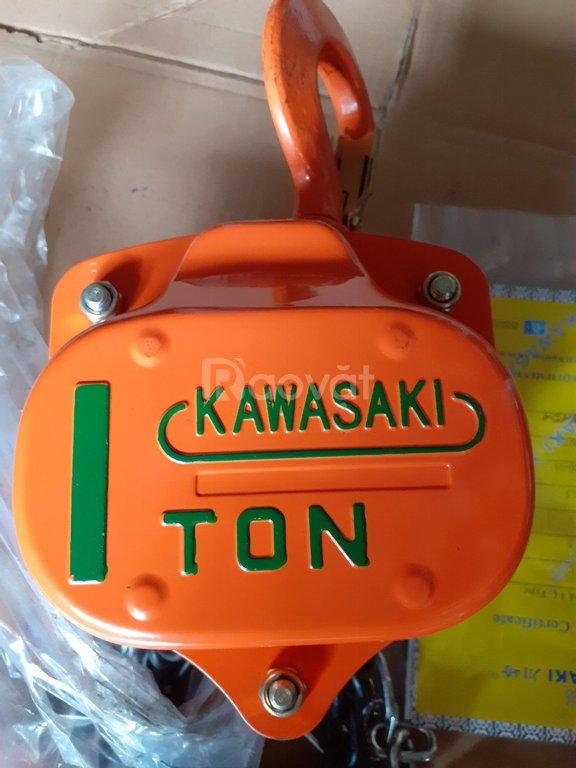 Pa-lăng xích kéo tay Kawasaki 1 tấn