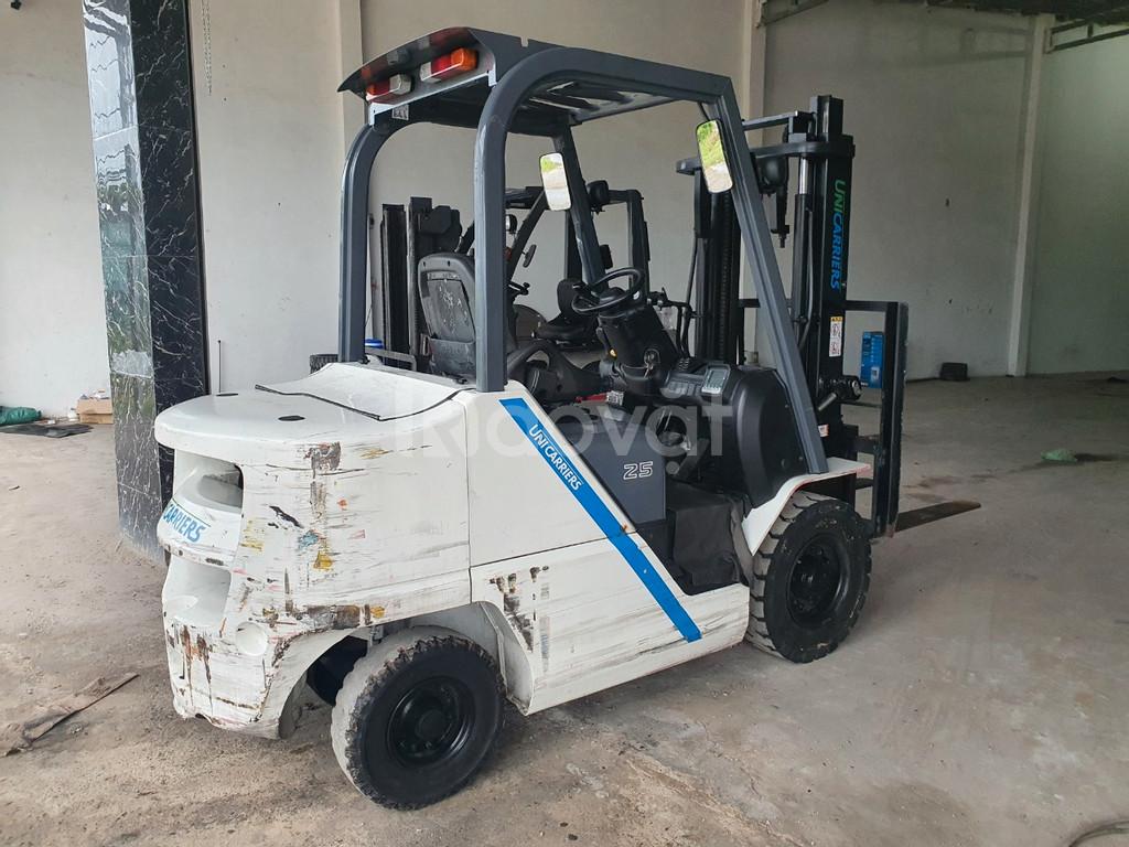 Xe nâng Unicarrier - xe nâng dầu - 2.5 tấn - cao 3m