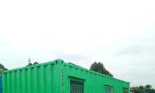 Container văn phòng, nhà ở có tolet tại TP HCM