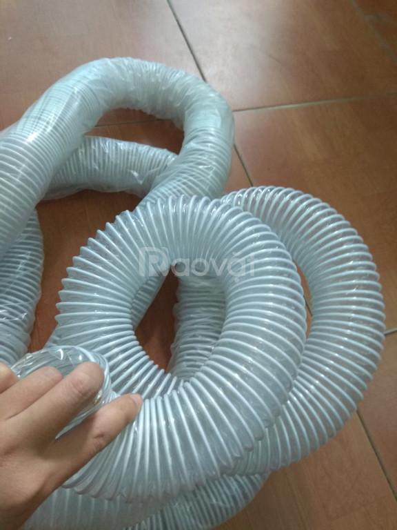 Ống hút bụi co giãn đàn hồi, ống hút bụi lõi thép bọc nhựa giá rẻ