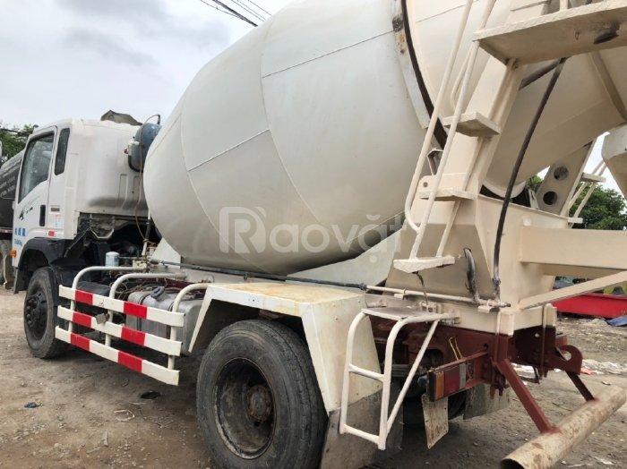 Xe trộn bê tông Howo 5 khối siêu mới 2016 nhập khẩu nội địa Trung