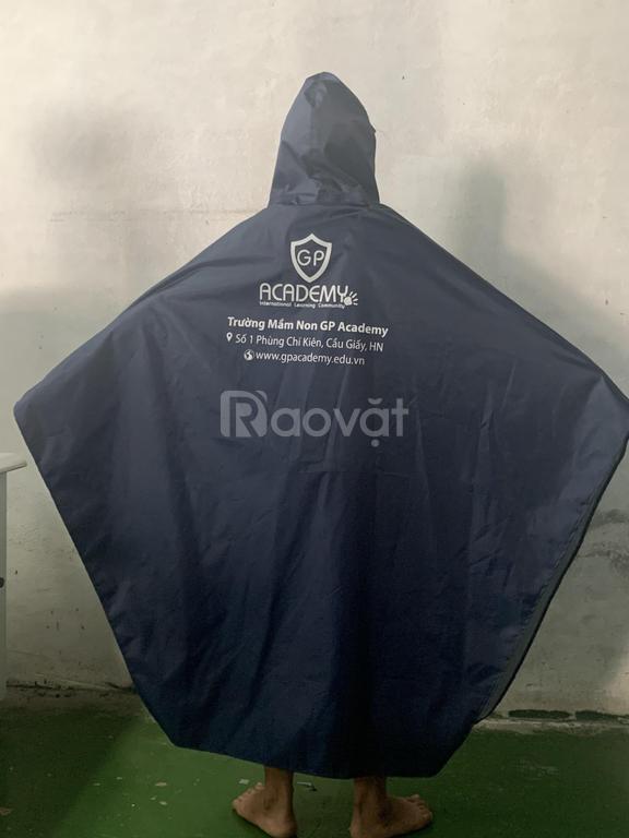 Xưởng sản xuất áo mưa in logo theo yêu cầu tại Quảng Nam