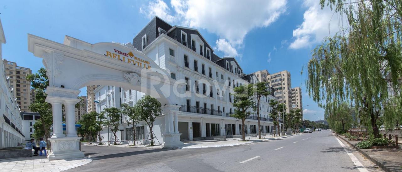 Nhà phố Shophouse phân lô Trung Hòa 115m2 mặt tiền, hỗ trợ thuê luôn