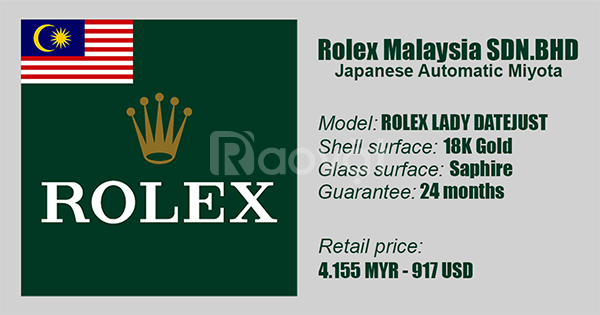 Rolex Lady Datejust Diamond