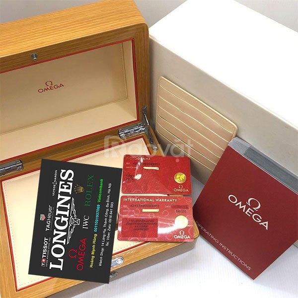 Omega Thụy Sỹ new fullbox vàng đúc 18k