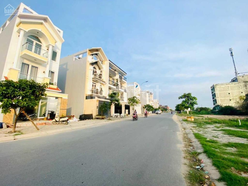Bán đất  thổ cư KDC Tên Lửa 2 sổ riêng sang tên ngay gần Aeon Bình Tân
