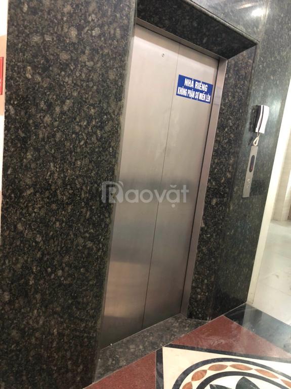 Cho thuê nhà mặt phố Tân Mai 55 m2 x 6 tầng, có thang máy