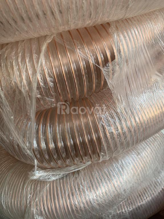 Ưu điểm của ống hút nhựa pu lõi thép mạ đồng phi 50, phi 100, phi 150