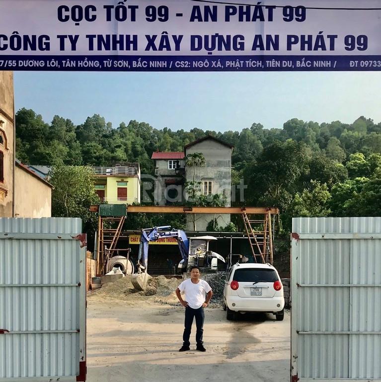 Phạm Tuấn, ép cọc bê tông tại Bắc Ninh, Bắc Giang, Hà Nội