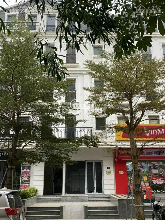 Shophouse nhà phố nằm trong khu đô thị nội thành Hà Nội