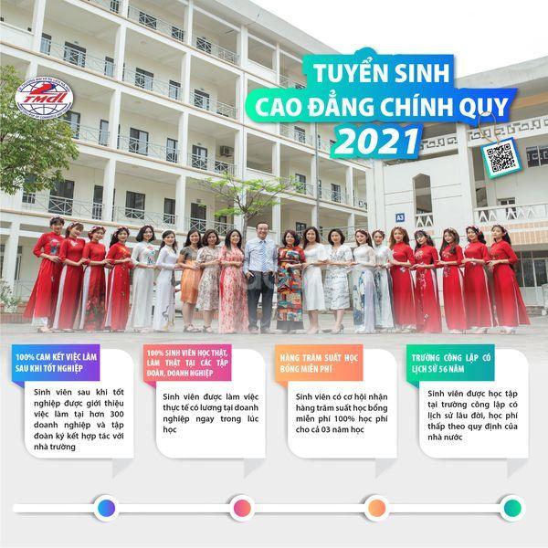 Tuyển sinh 2021 cao đẳng thương mại du lịch Hà Nội