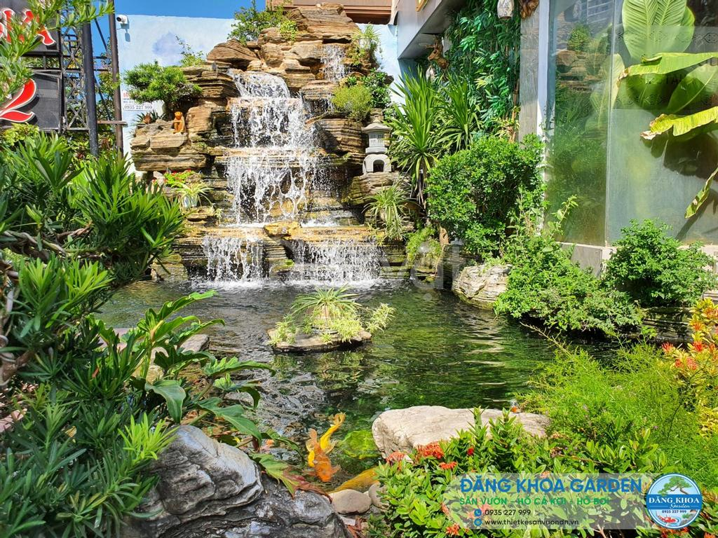 Thiết kế thi công cây xanh, vườn tường cây