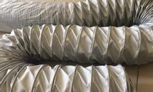 Ống gió vải chống cháy phi 100, phi 150, phi 200