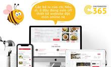 Thiết kế website nhà hàng chuyên nghiệp, giá tốt Tp. HCM