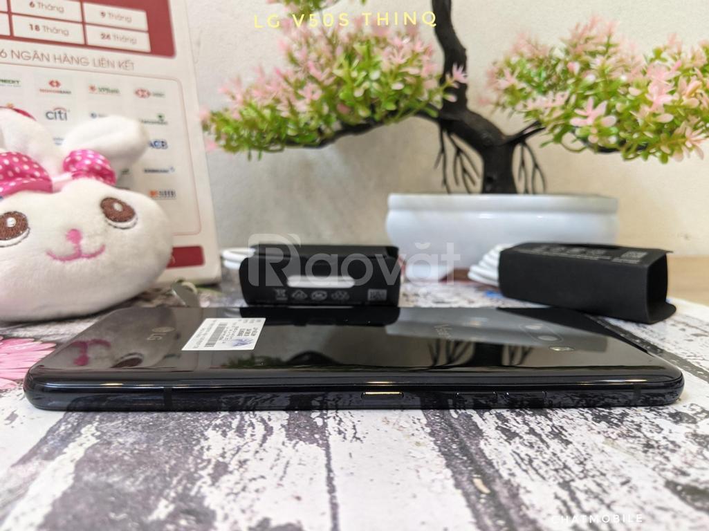 Điện thoại V50s ThinQ nguyên áp, Ram 8Gb/256Gb OLED 6.4 inch