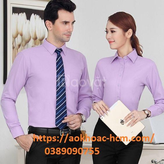 Nhận sản xuất áo thun, áo sơ mi đồng phục giá rẻ