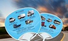 Sản xuất quạt nhựa cầm tay quảng cáo ô tô
