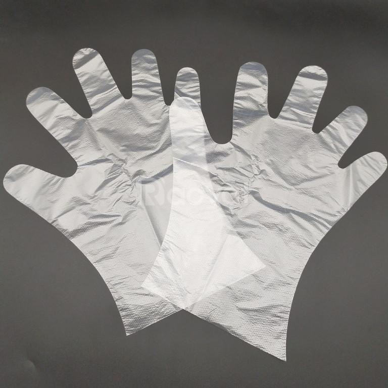 Găng tay xốp trắng chuyên dùng trong chế biến thực phẩm