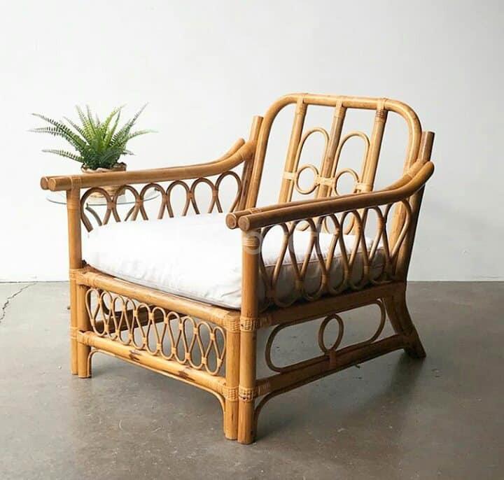 Mẫu ghế mây thư giãn hiện đại