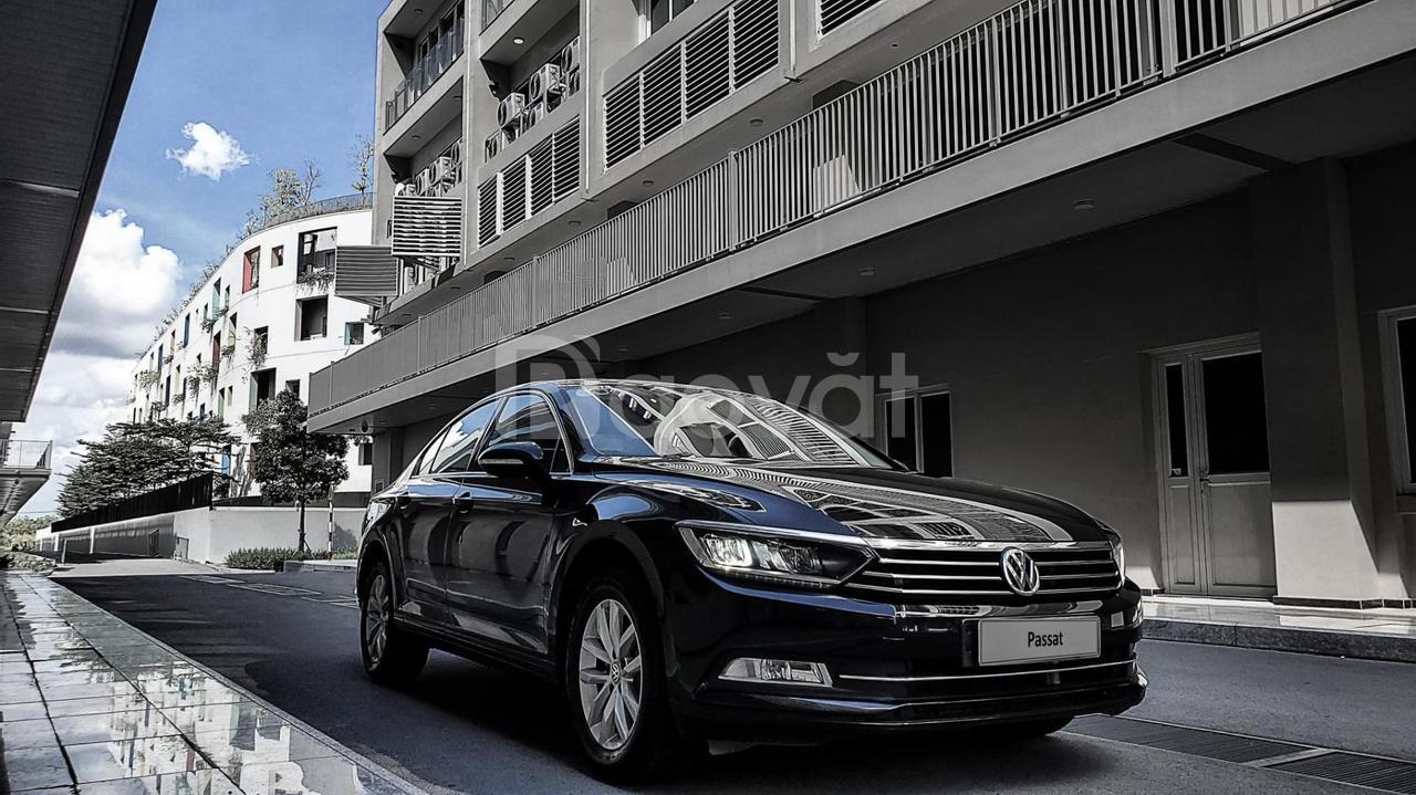 VW Passat Sedan màu bạc