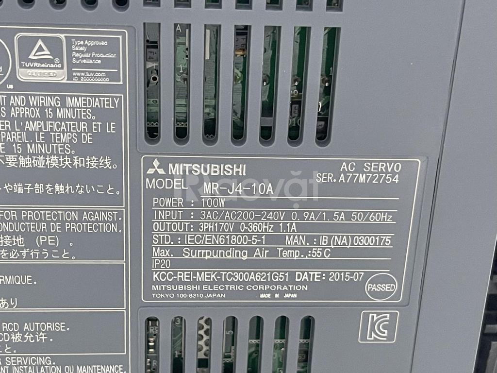 Bộ khuếch đại Servo MR-J4-10A Mitsubishi chính hãng giá rẻ