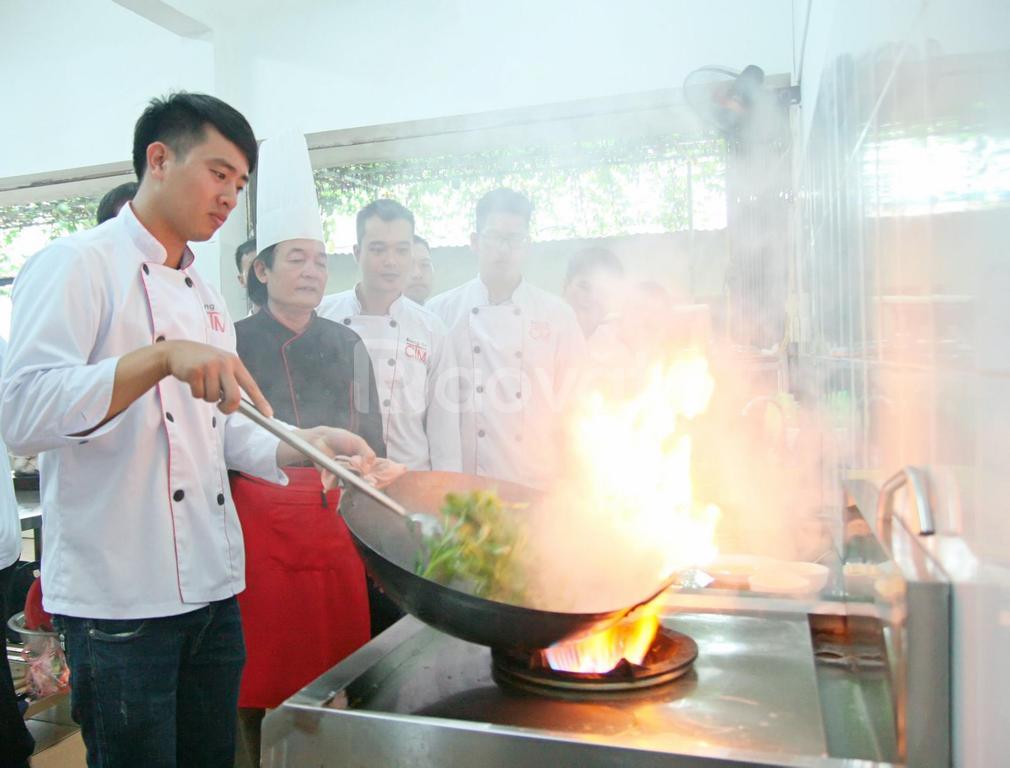 Trung cấp nấu ăn thông báo xét tuyển năm 2021 dành cho mọi đối tượng