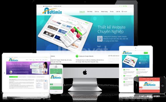 Tặng Hosting và tên miền quốc tế khi thiết kế webisite tại Adtimin