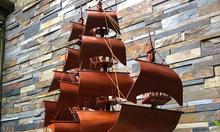 Thuyền buồm gỗ hương ta tự nhiên