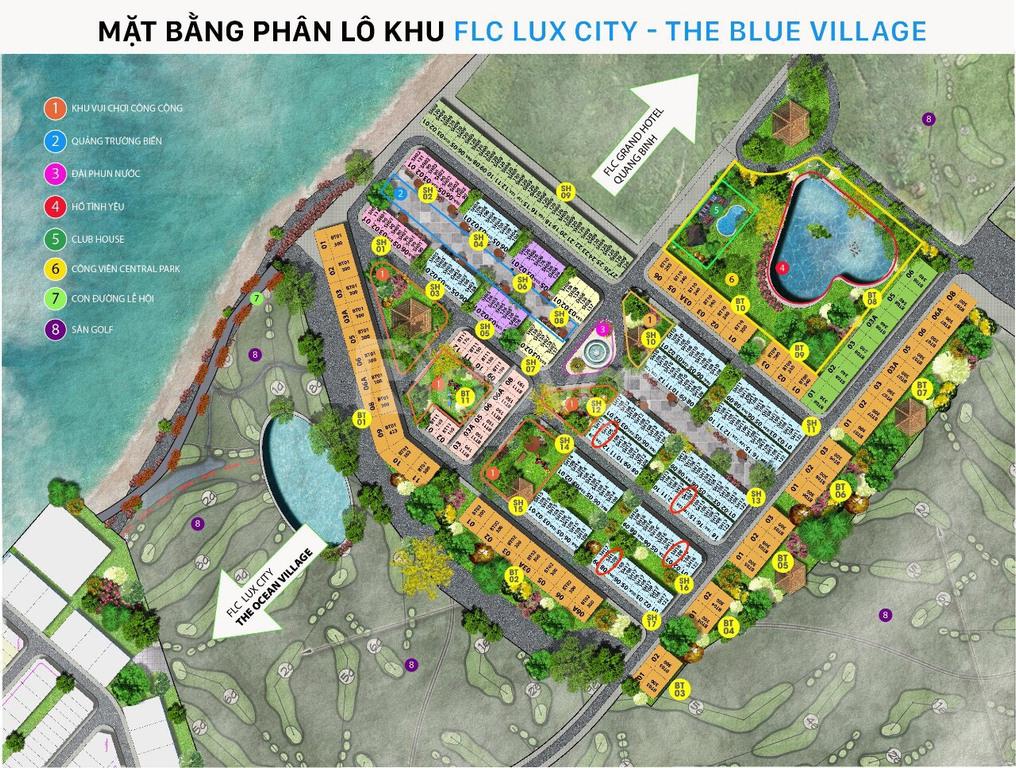 Cần tiền gấp nên gia đình tôi bán cắt lỗ Lô Góc dự án FLC Quảng Bình