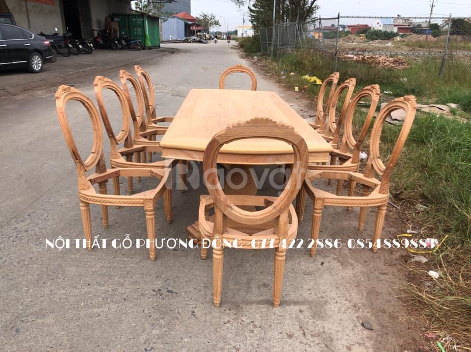 Mẫu khung ghế ăn tân cổ điển