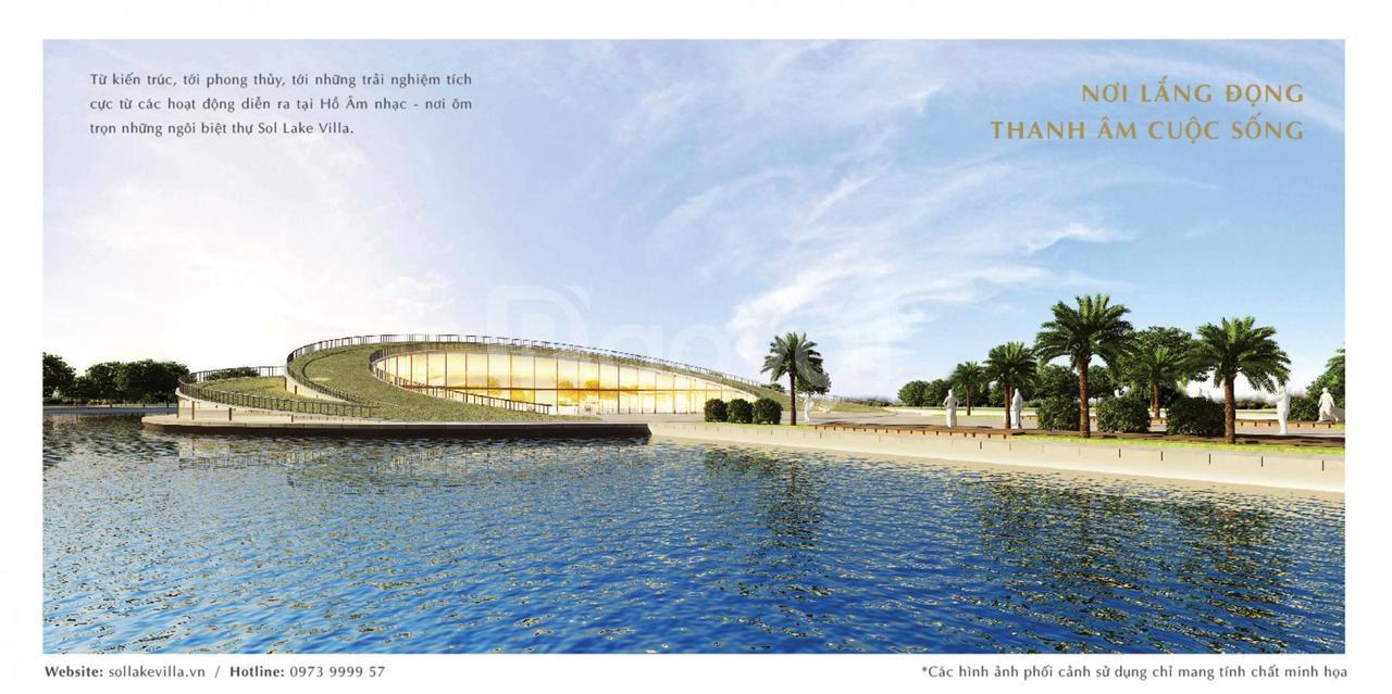 Sol Lake Villa, biệt thự cao cấp khu D-KĐT Dương Hội