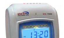 Máy chấm công Wise Eye WSE-7500D thẻ giấy