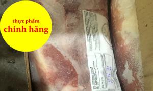 Nạc dăm heo, thịt heo đông lạnh, thịt heo nhập khẩu