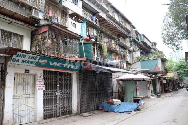 Cho thuê căn hộ tập thể P402 nhà A1, ngõ 199 Hồ Tùng Mậu
