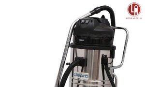 Máy hút bụi khô và ướt công nghiệp, model S2/60, hiệu Clepro 2 motor