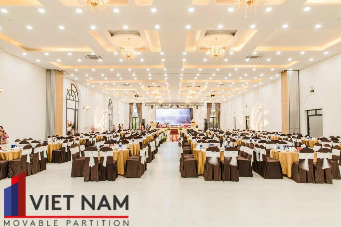 Vách ngăn di động cho nhà hàng tiệc cưới, trung tâm hội nghị