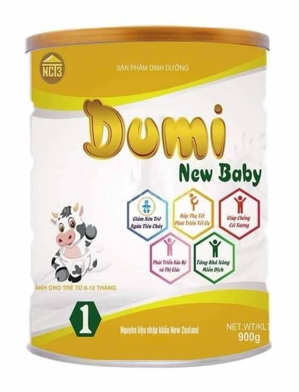 Sữa Dumi Newbaby 0-12 tháng tuổi