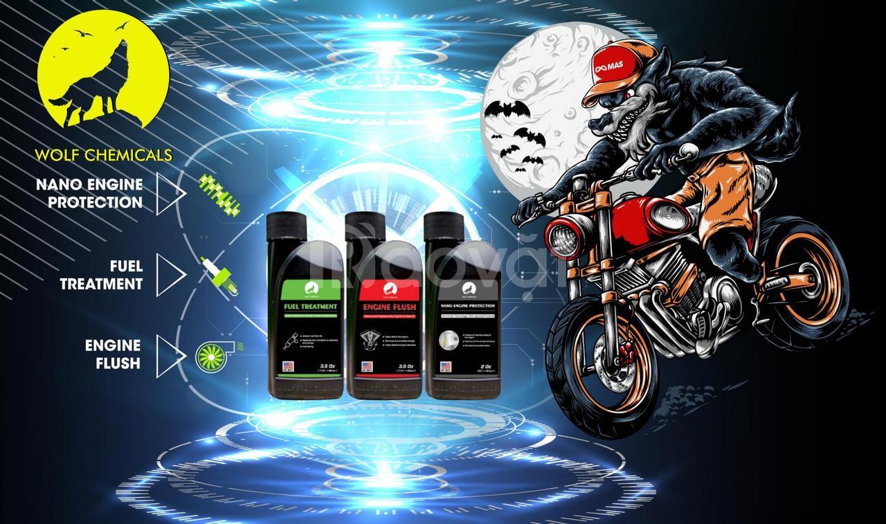 Phụ gia xăng xe máy, giải pháp về nhiên liệu cho xe