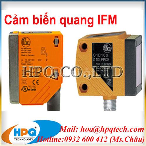 Cung cấp cảm biến lưu lượng IFM tại Việt Nam