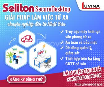 Giải pháp truy cập máy tính từ xa Soliton Secure Desktop