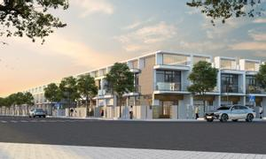 Nhà phố KCN Sam Sung Thái Nguyên, 2 mặt đường lớn vành đai 5 HN, LS 0%