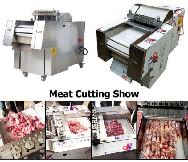 Máy chặt gà, chặt xương sườn lợn công nghiệp