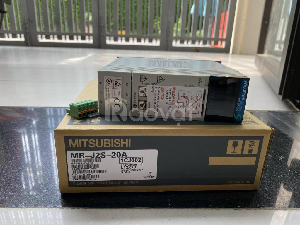 Servo mitsubishi MR-J2S-20A chính hãng giá rẻ