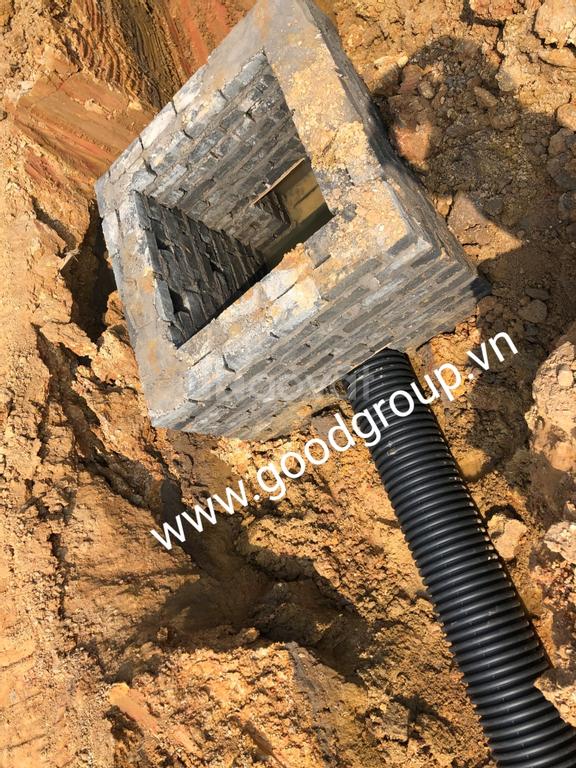 Ống xả thải thay thế ống bê tông truyền thống