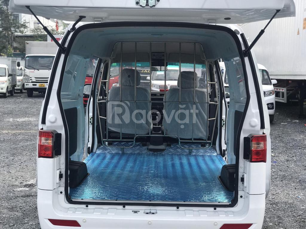Xe tải SRM 2 chỗ tải 930kg chạy thành phố 24/24, không lo cấm giờ