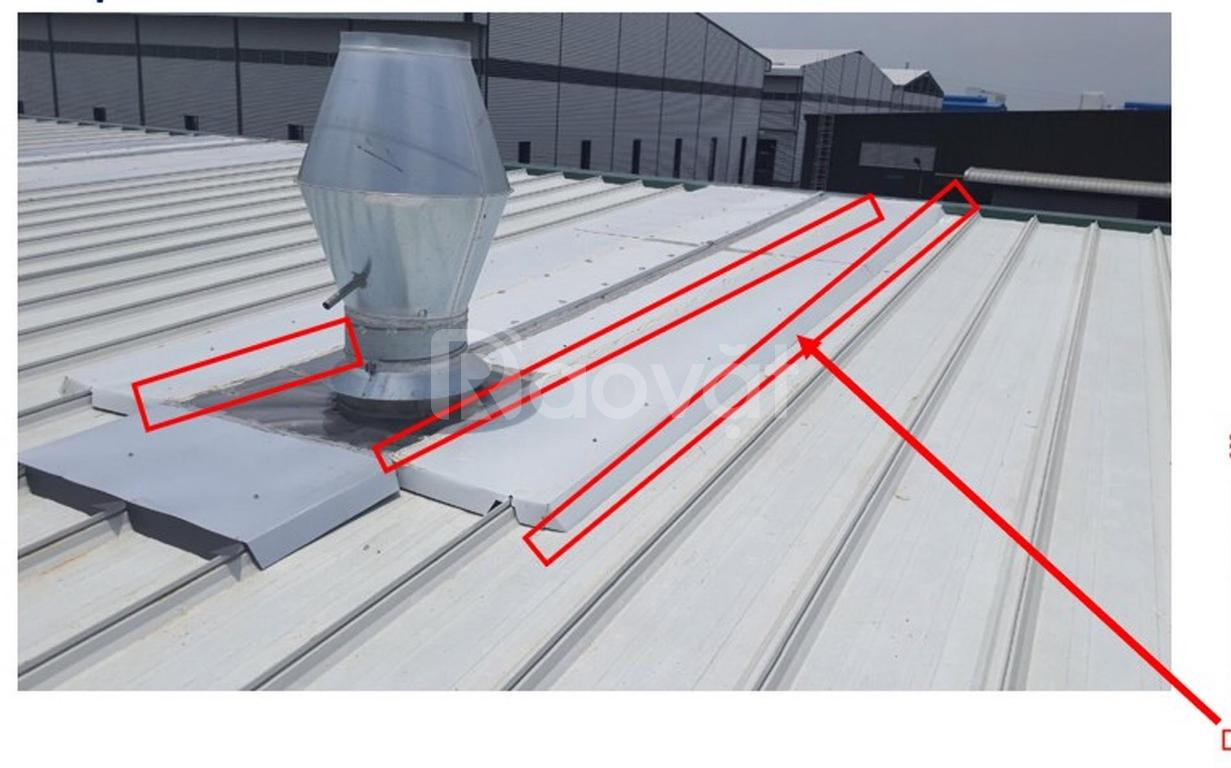 Dịch vụ chống thấm sàn mái, chống dột mái tôn premseal