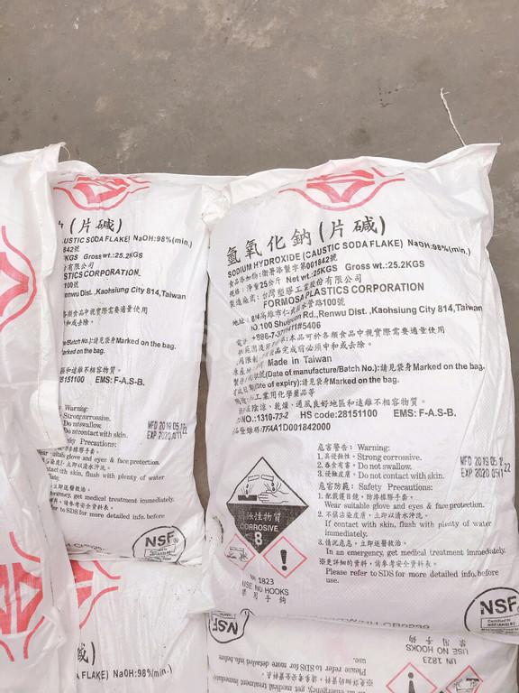 Xút NaOH xử lí nước, tẩy rửa, nguyên liệu cơ bản